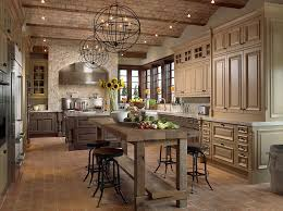 endearing country kitchen with pendant light simple granite