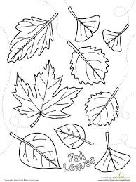 printable pictures of fall leaves coloring pages color falling