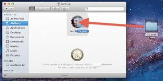 How to Use AirDrop in Mac OS X