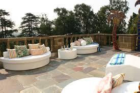 Semi Circle Patio Furniture by Moonpad