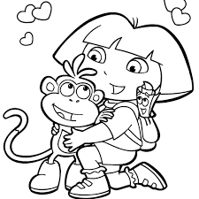 Image Cartoon Coloring Book 19 With Additional Line Drawings