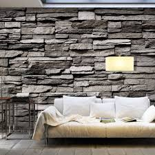 die perfekte steinoptik tapete 32 realistische öko designs