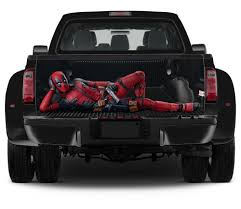 Truck Tailgate Graphics DeadPool Comics Vinyl Wrap Decal Full Color ... Amazoncom Thick Girls Jdm Decal Vinyl Stickercars Trucks Walls Woman Arrested With Antitrump Sticker Now Targeting Sheriff 50 Pcslot I Like That Like Funny Sticker Powered By Bitch Dust Car Window Stickers Diesel Girl Yes This Is My Truck No You Cant Drive It Vinyl Graphic Whosale 20 2x Sexy Girl Silhouette Stickers Mud Flap Car Styling Ktm Just Got Passed By A Cars Styling Lip Anime Elegant Design For Simple Look Pretty Play Dirty Mudding Jeep Laptop Dodge Ram Pink Camo X Front Three Quarter With