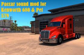 100 Paccar Trucks Sound Mod For Kenworth 680 Pet 579 Mod ATS Mod American