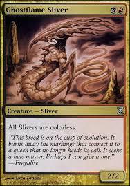 ghostflame sliver tsp mtg card