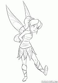 Dibujo Para Colorear Disney Fairy