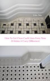 clean vintage bathroom tiles caulk more cleanly with painter s
