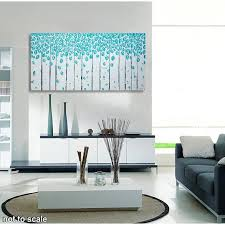 acrylbild auf leinwand bild abstrakt birken