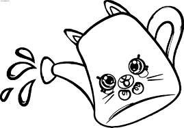 Shopkins Coloring Pages Drips 699