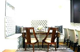 Upholstered Dining Room Bench Benches With Backs Marvelous Back