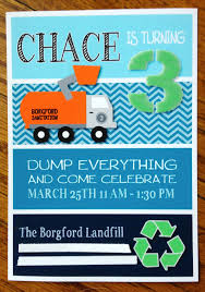 Beth Kruse Custom Creations: You Know What Would Make A Good Party ... Trash Truck Birthday Party Supplies The Other Decorations Included Amazoncom Garbage Truck Birthday Party Invitations For Boys Ten Bruder Toy Car Little Boys Bright Organge And Trash Crazy Wonderful Garbage Made Out Of Cboard At My Sons Themed Cakes Ballin Bakes Creative Idea Mini Can Bin Rehrig Cans Rehrigs Fast Lane Pump Action Toys R Us Canada Monster Signs Etsy Man Dump By Trucks Street Sweepers