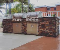 Custom Outdoor Kitchens Naples Fl by Dueling Grills