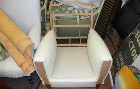 recouvrir un fauteuil club faire restaurer un fauteuil club