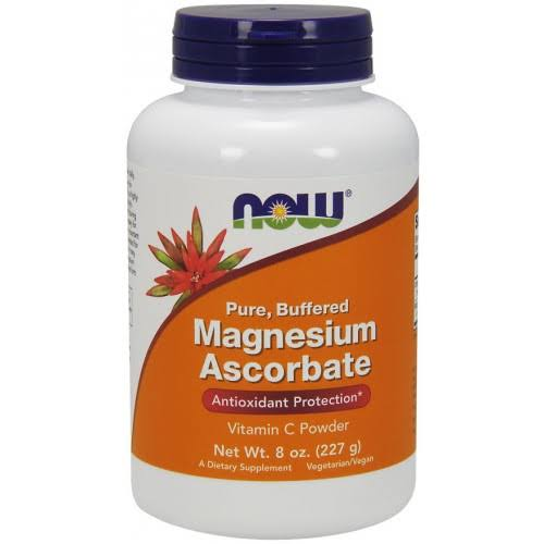 Now Magnesium Ascorbate Powder