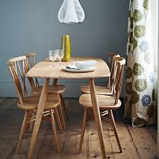Ercol For John Lewis Dining Table GBP399 Chairs GBP179 Each