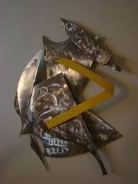 Metal Wall Sculpture By Tom Altiere Jr
