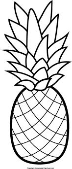 Pineapple clipart free clip art hair image 4877