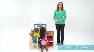 Step2 Art Easel Desk Instructions by Studio Art Desk Kids Art Desk Step2
