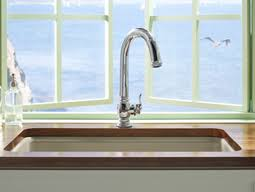 Kohler Touchless Faucet Battery by New Beckon Kitchen Faucet From Kohler Incorporates Advanced