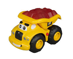 Toy State CAT Lightning Load Dump Truck - Haulin' Harry - Toys