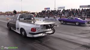 100 Lightning Truck Watch This 1900HP Ford F150 SVT Lay Down A 7Second