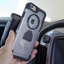 Crystal Case Magnetic Car Mount Clear iPhone 6 6s Rokform
