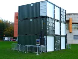 100 Shipping Containers Converted Container Conversion For Lumiere 2015