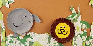 Animal Paper Plate Kids Craft