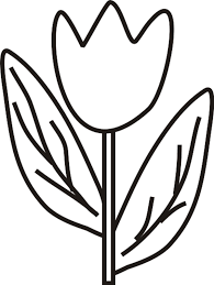 46 Coloring Pages Tulips Pics Photos Page