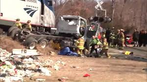 100 Garbage Truck Accident Louisa County Man Killed In Amtrak Train Garbage Truck Collision