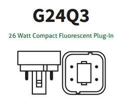 26 watt 4 pin compact fluorescent light bulbs with 2700k