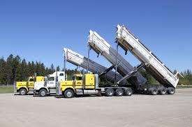 100 End Dump Truck Cornerstone Transport Edson Hinton Fox Creek Drayton Valley