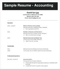 Job Resume Sample Malaysia Resumes Free Example Format Download Examples
