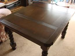 This Wasconsidered A Marginal Restoration However In Reality The Finished Table Is Possibly Better Than New And Similar Would Have Cost