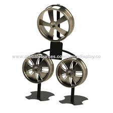 3 Aluminum Alloy Wheel Display Stand