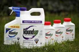Bottles Of Monsanto Roundup Herbicide Products In Shelbyville Kentucky On April 4 2016