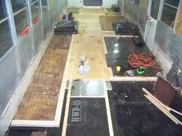 Skoolie Conversion Floor Plan by Walls U0026 New Floor Sub Floor U2013 Part 1 A Buffalo Bus