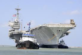 Uss America Sinking Photos by Decommissioned Carrier U0027independence U0027 Towed To Texas For Scrapping