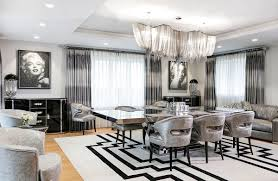 Art Deco Dining Room Home Design - Full Circle Best Fresh American Art Deco Interior Design 1823 Bedroom Home Regarding Neoclassical And Features In Two Luxurious Interiors Photos Hgtv Modern Living Room With High Ceilings Chartreuse Stunning 2 Beautiful Style View Nice Decoration Fabulous Shape Of