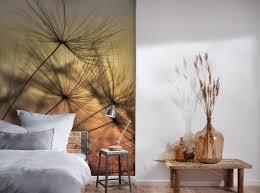 fototapete digitaldruck himmel pusteblume abendlicht 255 x 350 cm
