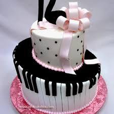 Music lovers birthday cake