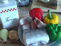 cuisiner du congre i cuisine le poisson du jour darnes de congre aux poivrons