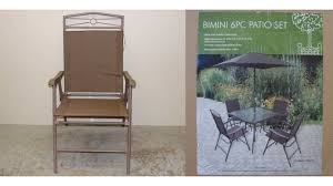 Patio Chairs Sold At Christmas Tree Shops Recalled For Fall Hazard