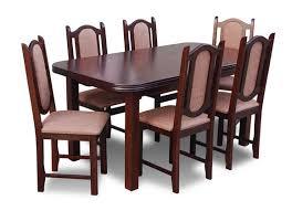 esstisch tisch 6 stühle gruppe esszimmer wohnzimmer garnitur holz design set