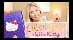😻 COLOURPOP X Hello Kitty Collection 😻 | Swatches & First Impressions Huge Colourpop Haul Lipsticks Eyeshadows Foundation Palettes More Colourpop Blushes Tips And Tricks Demo How To Apply A Discount Or Access Code Your Order Colourpop X Eva Gutowski The Entire Collection Tutorial Swatches Review Tanya Feifel Ultra Satin Lips Lip Swatches Review Makeup Geek Coupon Youtube Dose Of Colors Full Face Using Only New No Filter Sted Makeup Favorites Must Haves Promo Coupon