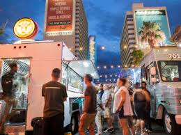 Downtown Las Vegas Celebrates Third Thursday — PHOTOS | Las Vegas ... Trucknyaki Food Truck Wrap Geckowraps Las Vegas Vehicle Wraps A Wall Of Taco Trucks Is Going Up Outside Trump Eater Foodie Fest With White Castle Continues At Silverton Handy Guide To In Truck And Sticky Iggys Roaming Hunger How Start A Nv Best 2018 Again Fusion Beastro 360 Dragon Grille On Twitter Setting Up Iheartradio Festival Vip Near 2_b Findlay North Volkswagen For Sale Online