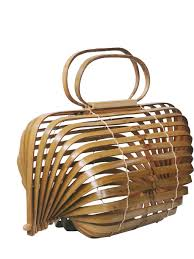 100 Axis Design Group US 2576 8 OFFUnique Bamboo Basket Bamboo Bag Hollow Beach Bag Handbag Foldable Bag Rotatable Axis A4525in TopHandle Bags From Luggage