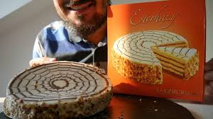 asmr dessert hazelnut cake hungarian esterházy torta