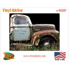 100 One Ton Truck 1947 Ford Garage Vinyl Sticker Laptop Car Bumper Decal