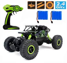 100 Rc Cars And Trucks Videos Amazoncom 24Ghz 118 RC Rock Crawler Vehicle Car 4 WD High Speed